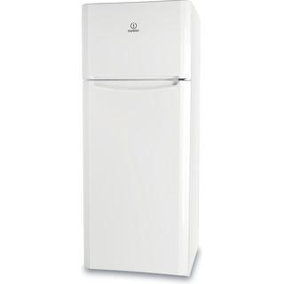 Indesit Комбиниран хладилник с камера Свободностоящи TIAA 10 (1) Бял 2 врати Perspective