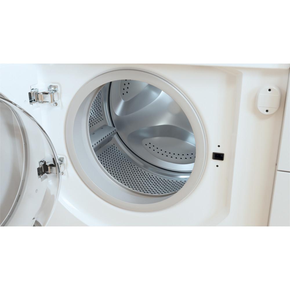 Indesit Washing machine Built-in BI WMIL 71252 UK N White Front loader E Drum