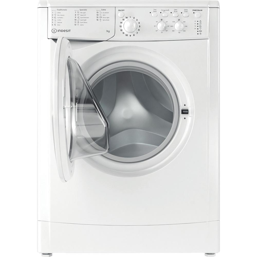Indesit Washing machine Free-standing IWC 71252 W UK N White Front loader E Frontal open