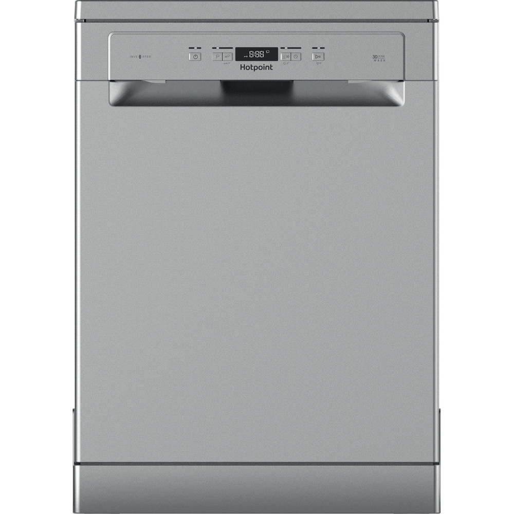 Hotpoint Dishwasher Free-standing HFC 3C26 X UK Free-standing A Frontal