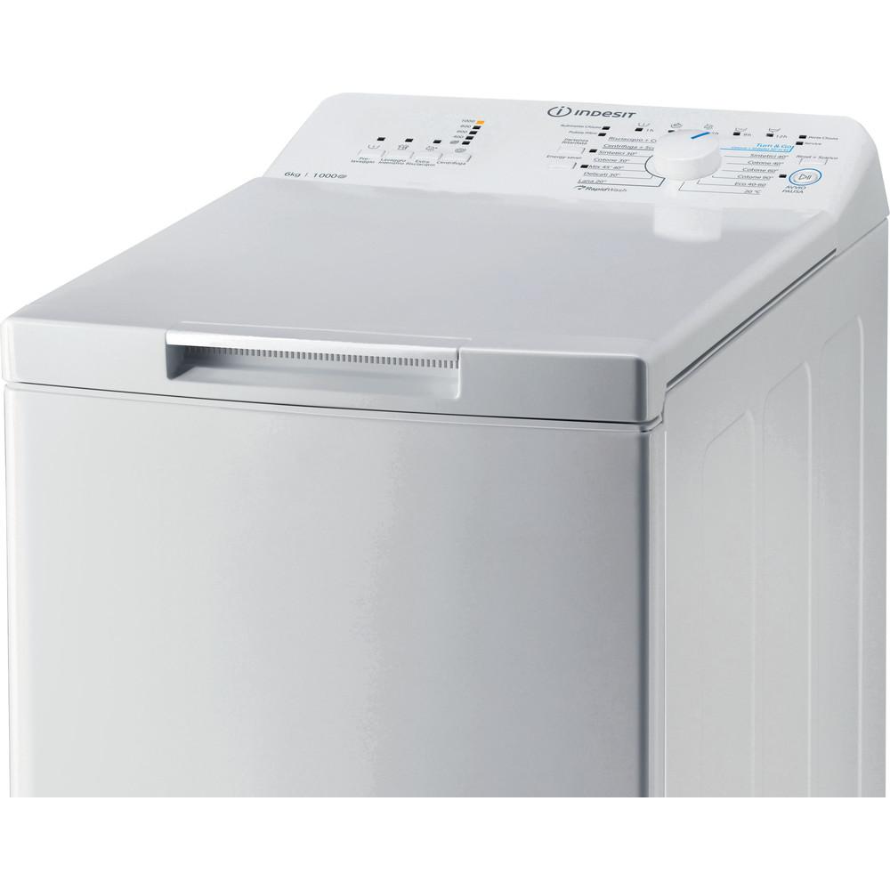 Indesit Lavabiancheria A libera installazione BTW L60300 IT/N Bianco Carica dall'altro A+++ Control panel