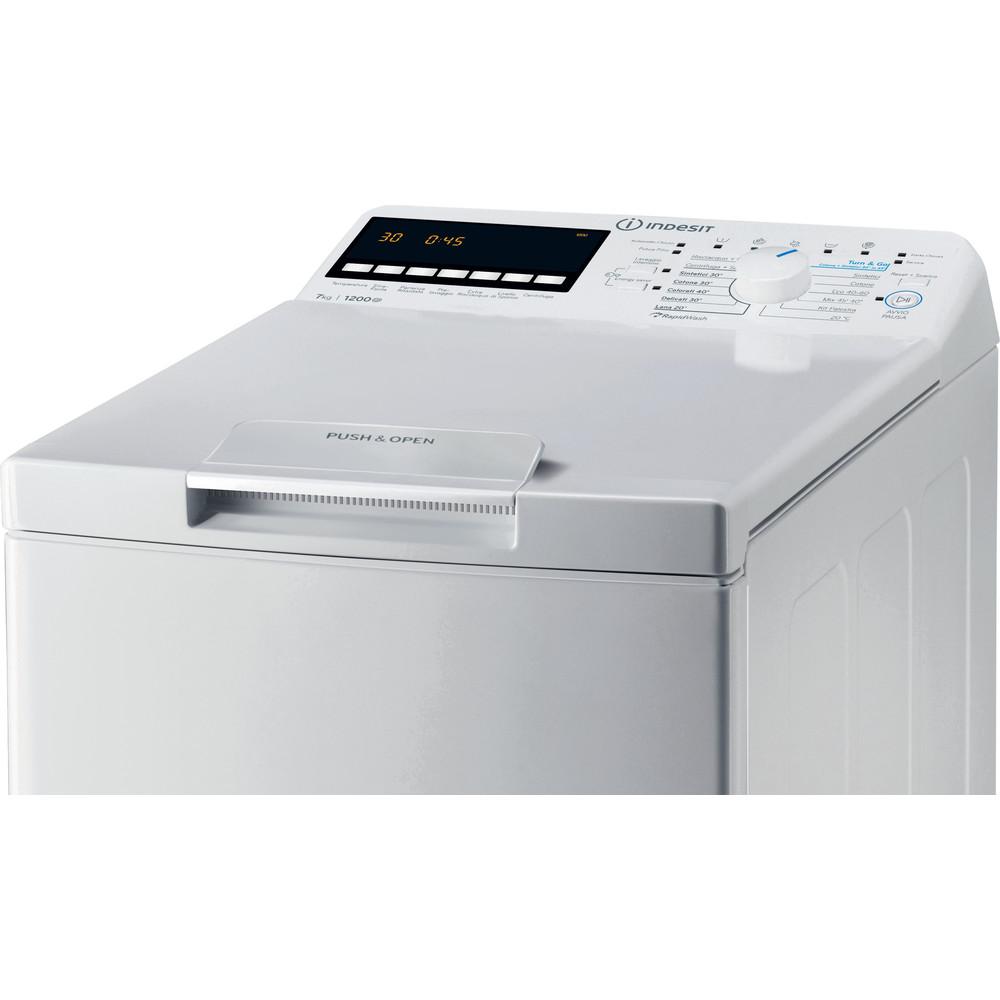 Indesit Lavabiancheria A libera installazione BTW B7220P IT/N Bianco Carica dall'altro A+++ Control panel