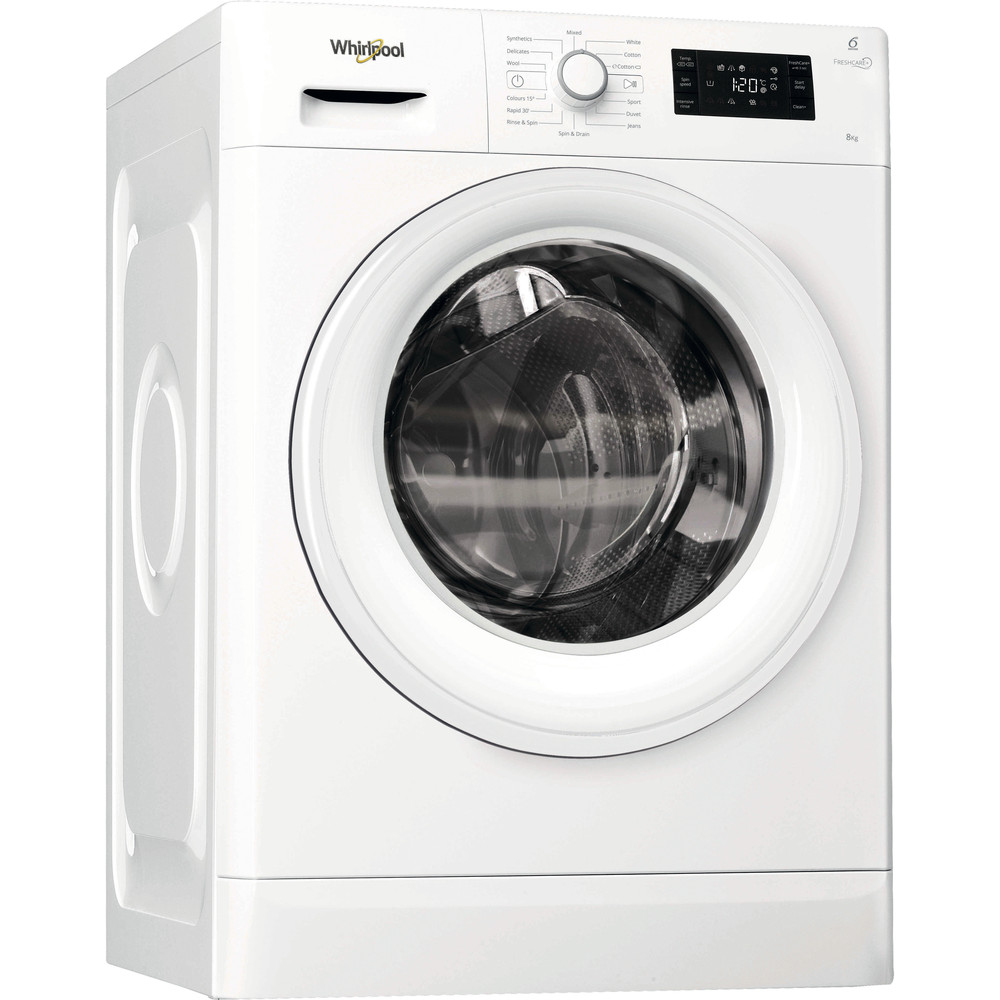 Whirlpool FreshCare FWG71484W Washing Machine 7kg 1400rpm - White
