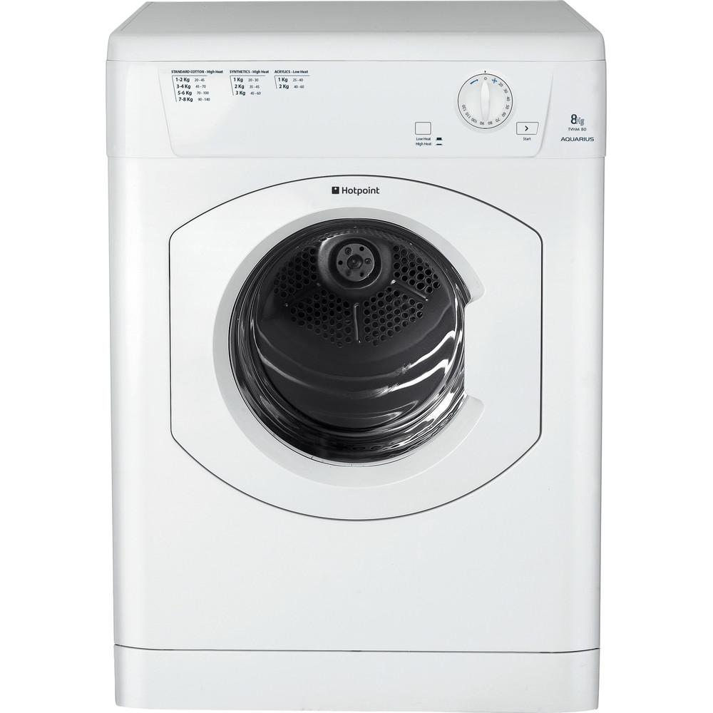 Hotpoint Dryer TVHM 80C P (UK) White Frontal