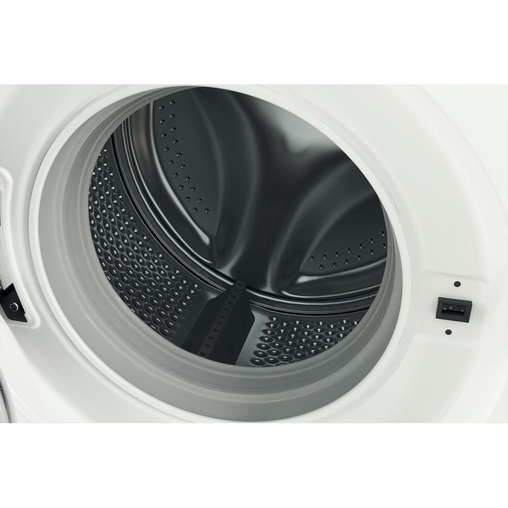 Indsit Maşină de spălat rufe Independent MTWE 71252 WK EE Alb Încărcare frontală A +++ Drum