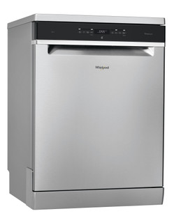 Whirlpool dishwasher: inox color, full size - WFO 3P23 PL X