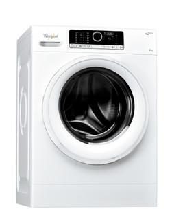 Whirlpool prostostoječi pralni stroj s sprednjim polnjenjem: 8 kg - FSCR 80415