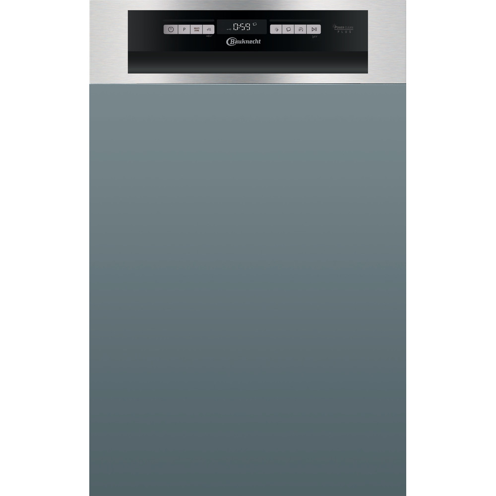 Bauknecht Dishwasher Einbaugerät BSBO 3O21 PF X Teilintegriert E Frontal