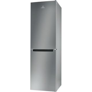 Indesit Combinazione Frigorifero/Congelatore A libera installazione XI8 T1I X Inox 2 porte Perspective