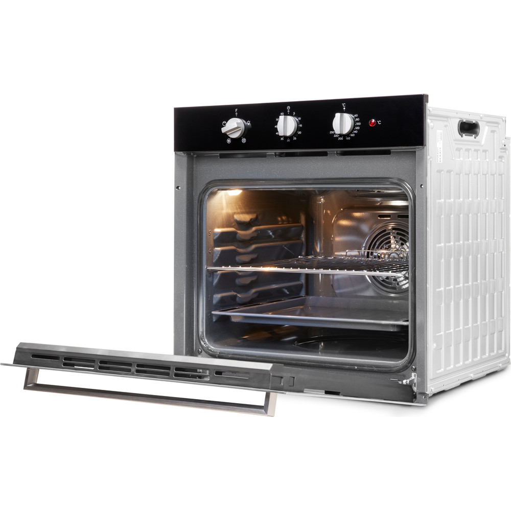 Indesit OVEN Built-in IFW 6330 BL UK Electric A Perspective_Open