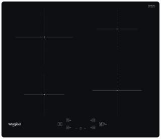 Whirlpool glaskeramisk induktionskogeplade - WS Q2160 NE