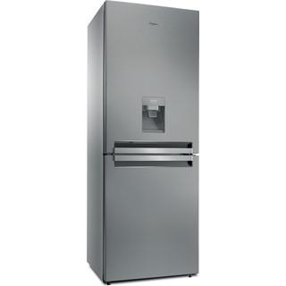 Whirlpool Συνδυασμός ψυγείου/καταψύκτη Ελεύθερο BTNF 5011 OX AQUA 1 Inox 2 doors Perspective