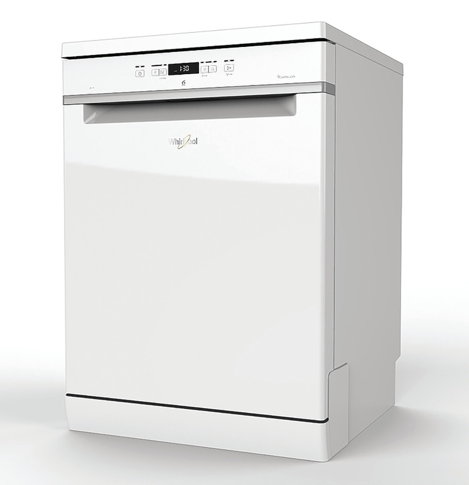 Whirlpool Dishwasher Free-standing WFC 3C24 P UK Free-standing E Perspective