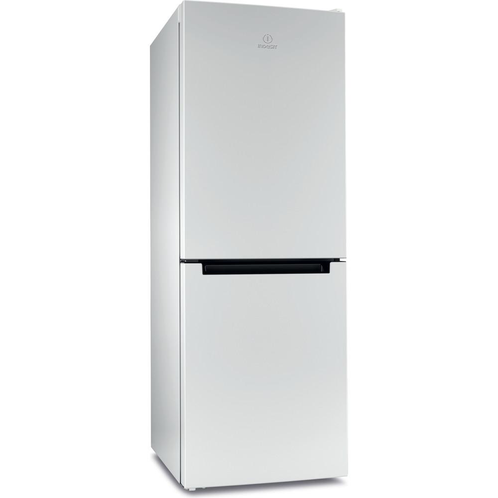 Indesit Холодильник с морозильной камерой Отдельностоящий DFN 16 Белый 2 doors Perspective