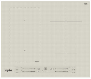 Whirlpool indukciós főzőlap - WL S2760 BF/S