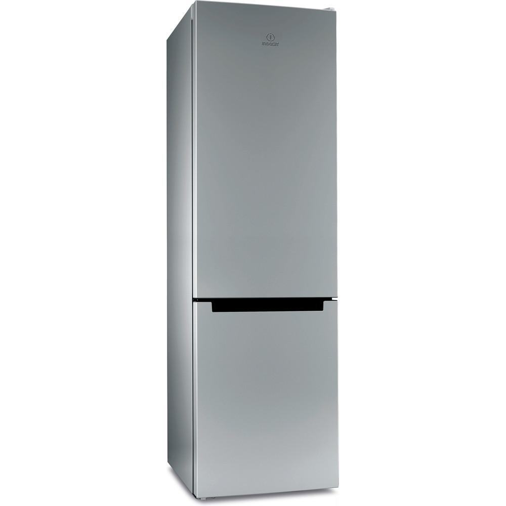 Indesit Холодильник с морозильной камерой Отдельностоящий DS 4200 SB Серебристый 2 doors Perspective