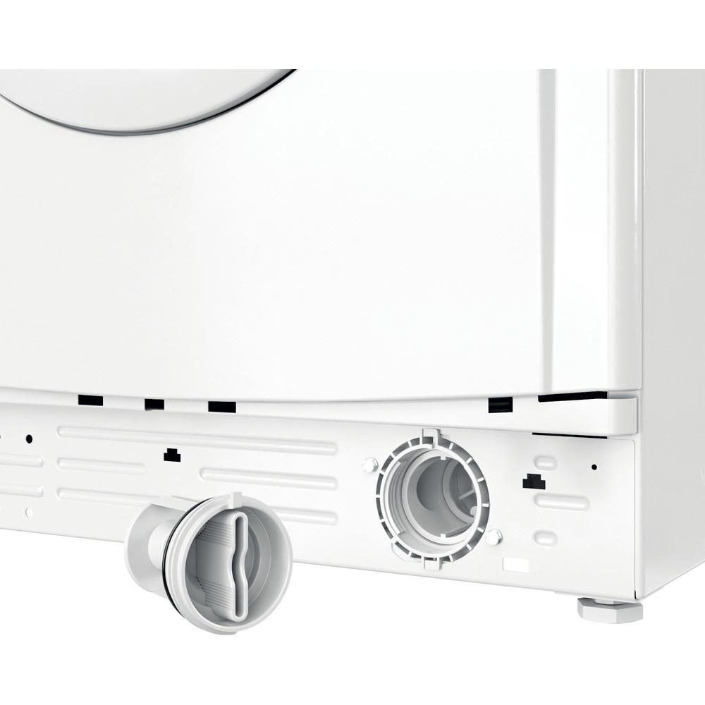 Indesit Máquina de lavar roupa Livre Instalação EWC 61251 W SPT N Branco Carga Frontal F Filter