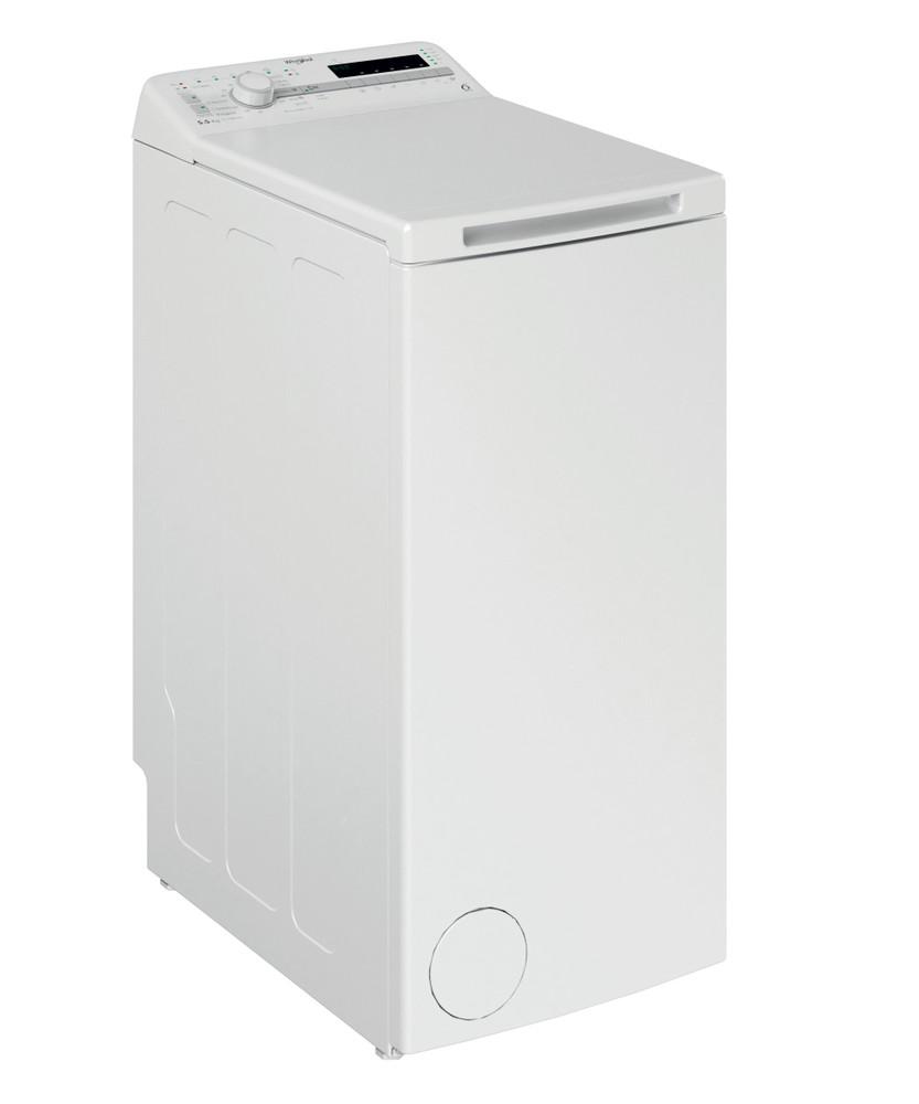 Whirlpool Washing machine Samostojeća TDLR 55120S EU/N Bela Gorenje punjenje A++ Perspective
