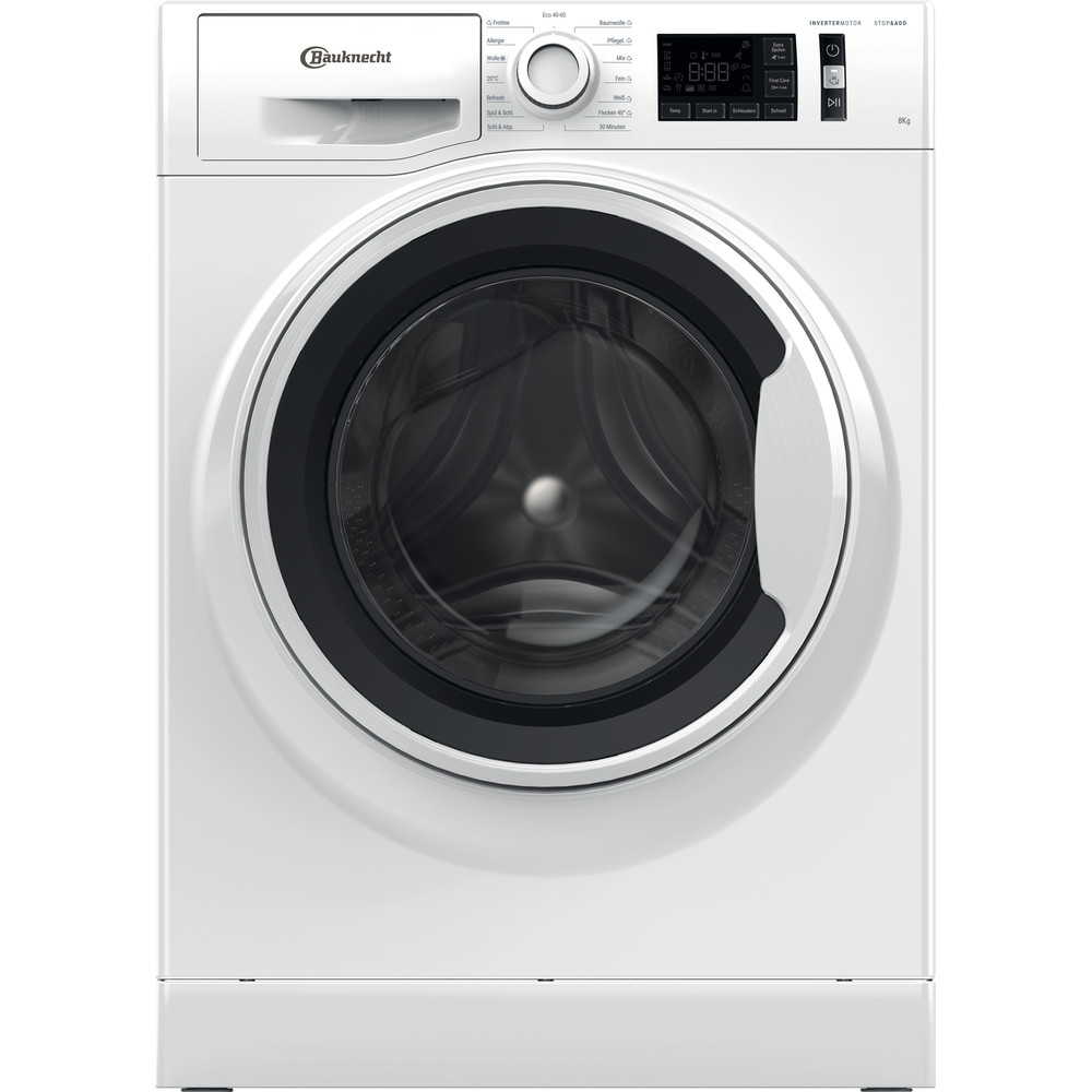 Bauknecht Waschmaschine Standgerät WM 811 C Weiss Frontlader C Frontal