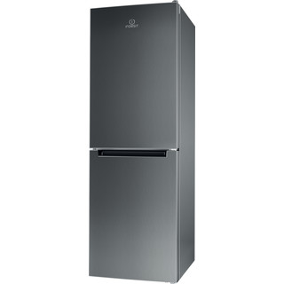 Indesit Kombinovaná chladnička s mrazničkou Voľne stojace LR7 S2 X Nerez 2 doors Perspective