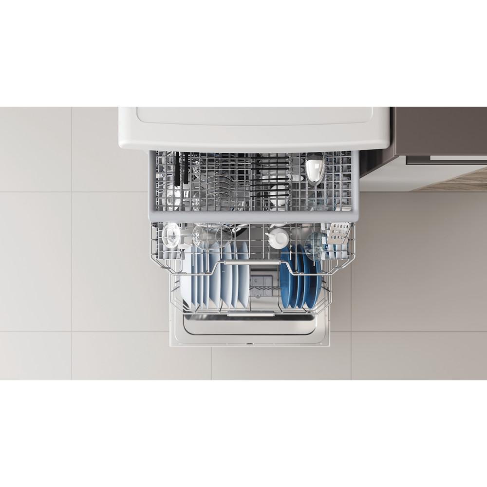 Indesit Dishwasher Free-standing DFO 3T133 F UK Free-standing D Rack