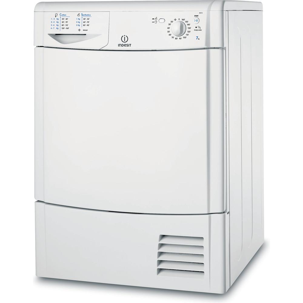 Indesit Сушильная машина IDC 75 B (EU) Белый Perspective