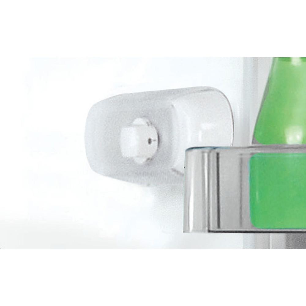Indesit Combinazione Frigorifero/Congelatore A libera installazione LR8 S1 S Argento 2 porte Control panel