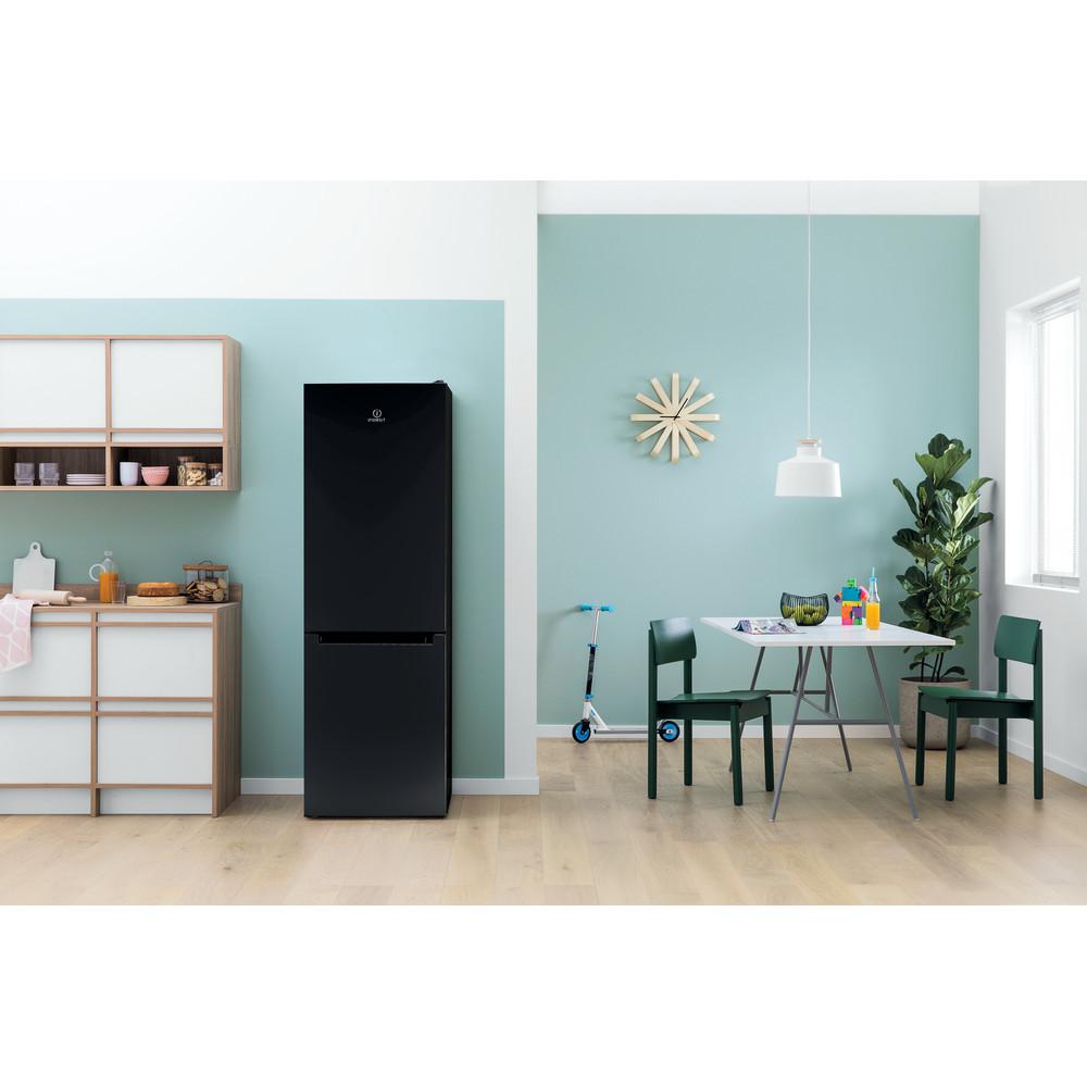 Indesit Холодильник с морозильной камерой Отдельностоящий DS 4180 B Черный 2 doors Lifestyle_Frontal
