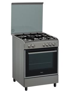 Whirlpool gas freestanding cooker: 60cm - ACMK 6110/IX/1