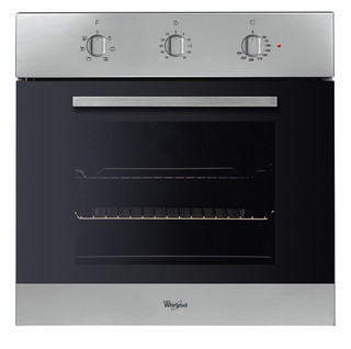 Whirlpool built in electric oven: inox color - AKP 444/IX