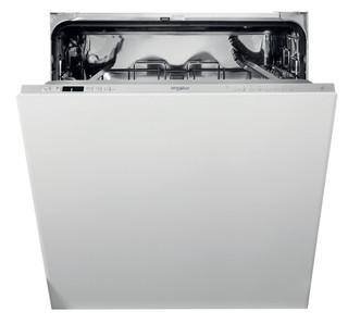 Kalusteisiin sijoitettava Whirlpool astiapesukone: Hopeanvärinen, Täysikokoinen - WIC 3C33 E