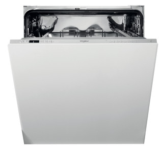 Integreret Whirlpool-opvaskemaskine: sølvfarve, fuld størrelse - WIC 3C33 E