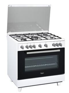 Cuisinière posable Whirlpool: 90 cm - ACM9415/1G/WH