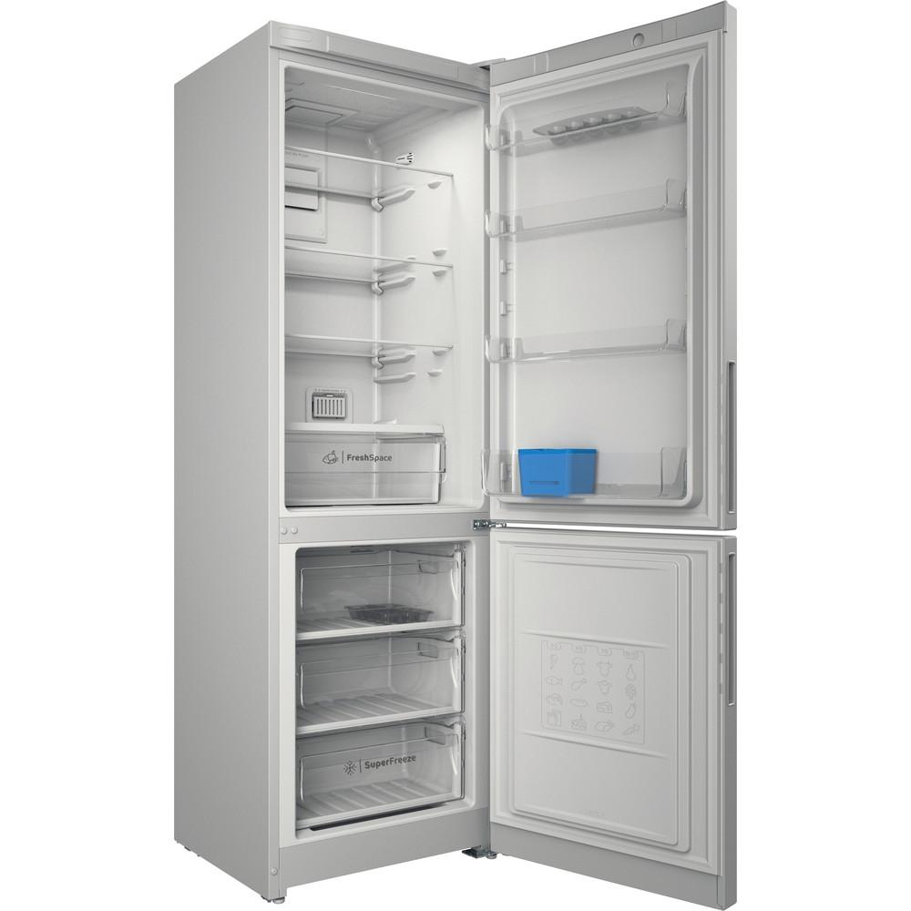 Indesit Холодильник с морозильной камерой Отдельностоящий ITD 5180 W Белый 2 doors Perspective open