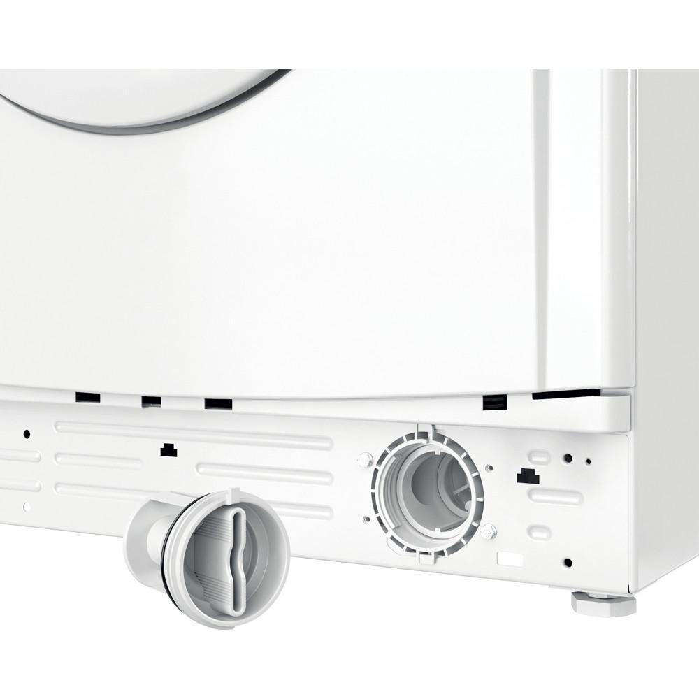"""""""Indesit"""" Skalbimo mašina Laisvai pastatoma EWUD 41251 W EU N Balta Pakraunama iš priekio F Filter"""
