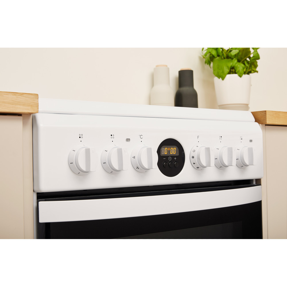 Indesit Плита IS5V8CCW/E Белый Electrical Lifestyle_Control_Panel