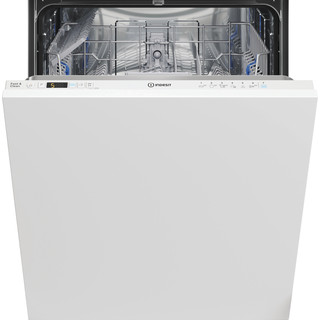 Indesit Lave-vaisselle Encastrable DIC 3B+16 A S Tout intégrable F Frontal