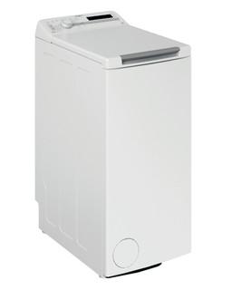 Fritstående Whirlpool-vaskemaskine med topbetjening: 6.5 kg - PWTL29126/N