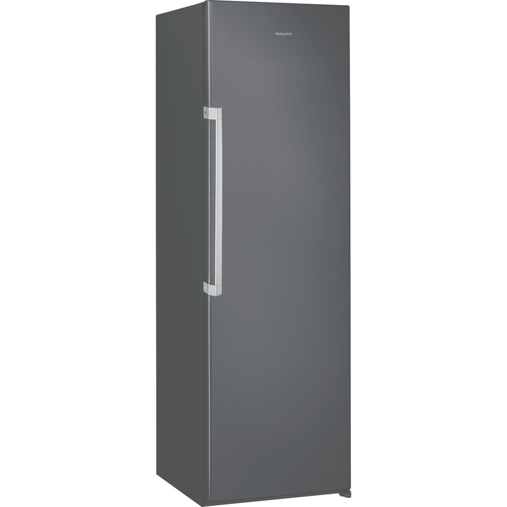 Hotpoint Refrigerator Free-standing SH8 1Q GRFD UK Graphite Perspective