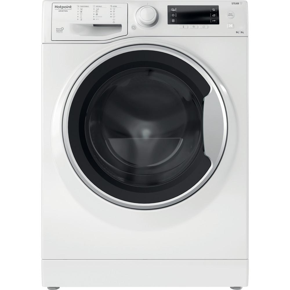 Hotpoint_Ariston Maşină de spălat rufe cu uscător Neincorporabil RDD 966238 WS VJ EU Alb Încărcare frontală Frontal