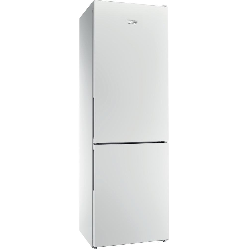 Hotpoint_Ariston Комбинированные холодильники Отдельностоящий HF 4180 W Белый 2 doors Perspective