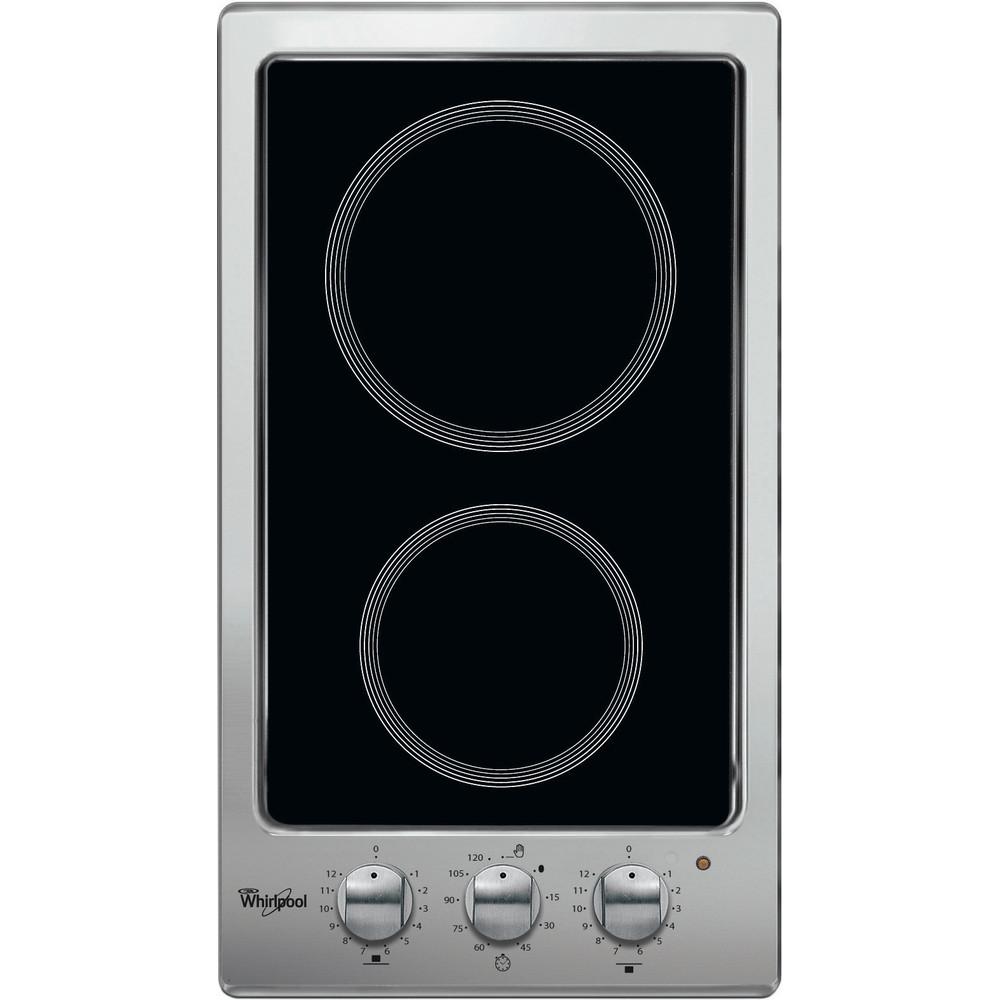 Whirlpool AKT 316/IX Elektrische kookplaat - Inbouw - 2 elektrische zones