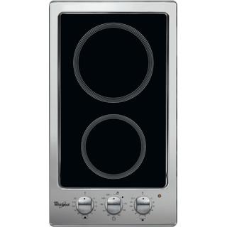Whirlpool AKT 316/IX Keramische Kookplaat - Inbouw - 2 kookzones