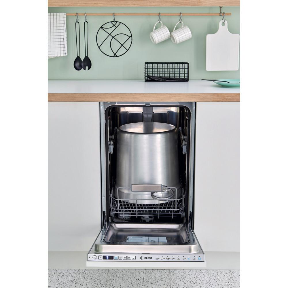 Indesit Посудомийна машина Вбудований (-а) DSIO 3T224 Z E Вбудована A++ Lifestyle frontal open