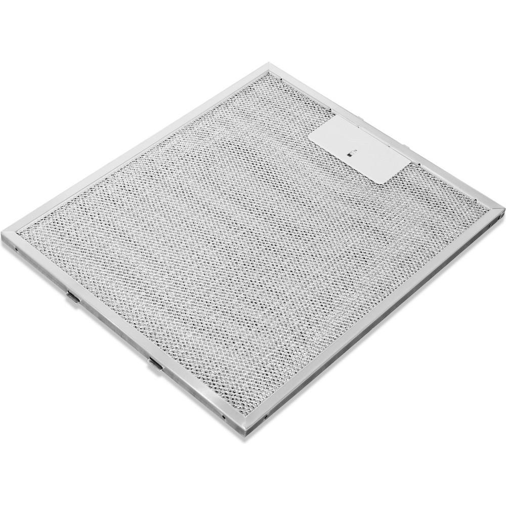 Indesit Dampkap Inbouw IHPC 9.4 LM X Inox Wandmodel Mechanisch Filter