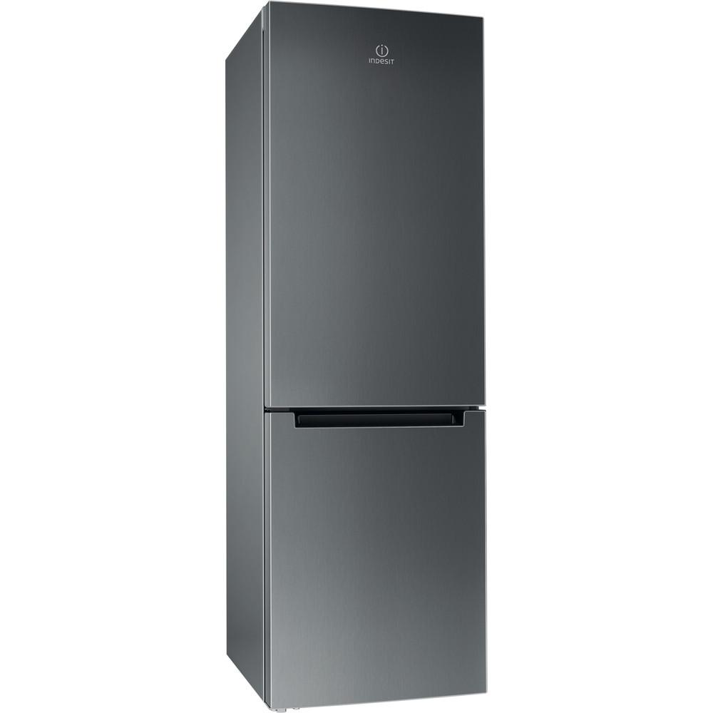 Indesit Холодильник з нижньою морозильною камерою. Соло DF 4181 X Нержавіюча сталь 2 двері Perspective