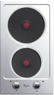 Whirlpool hob: 2 electric rings - AKT 310/IX