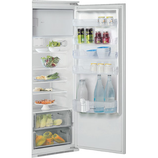 Indesit Réfrigérateur Encastrable INSZ 18011 Blanc Perspective open