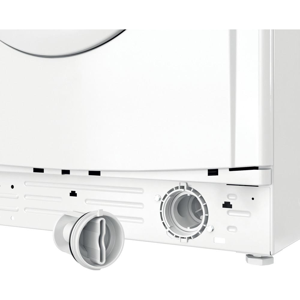 Indesit Lave-linge Pose-libre EWC71252WFR N Blanc Lave-linge frontal E Filter