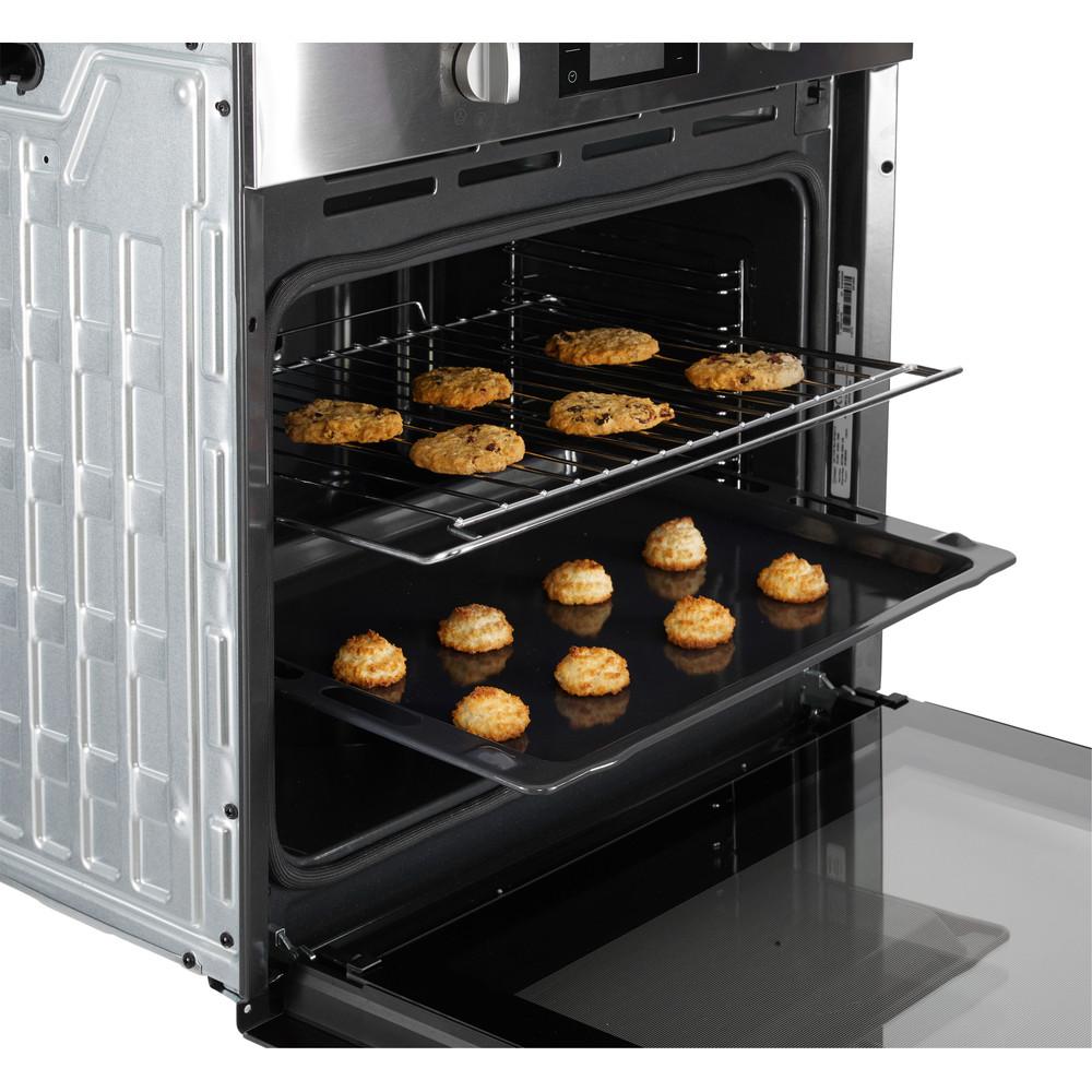 Indesit Oven Ingebouwd IFW 3844 P IX Elektrisch A+ Lifestyle detail